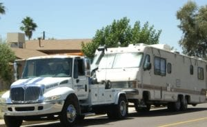 RV Towing at indianapolis best towing service