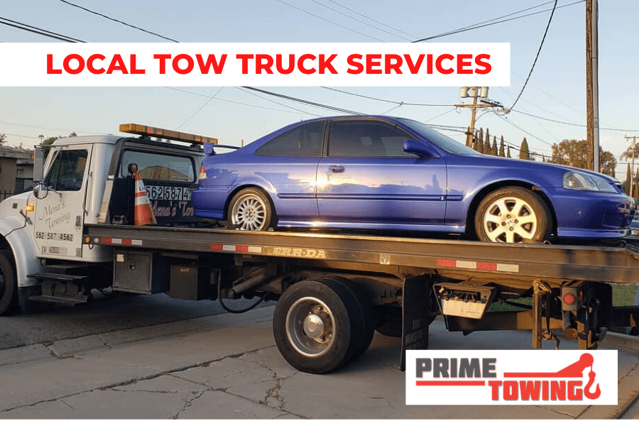 LOCAL TOW TRUCK