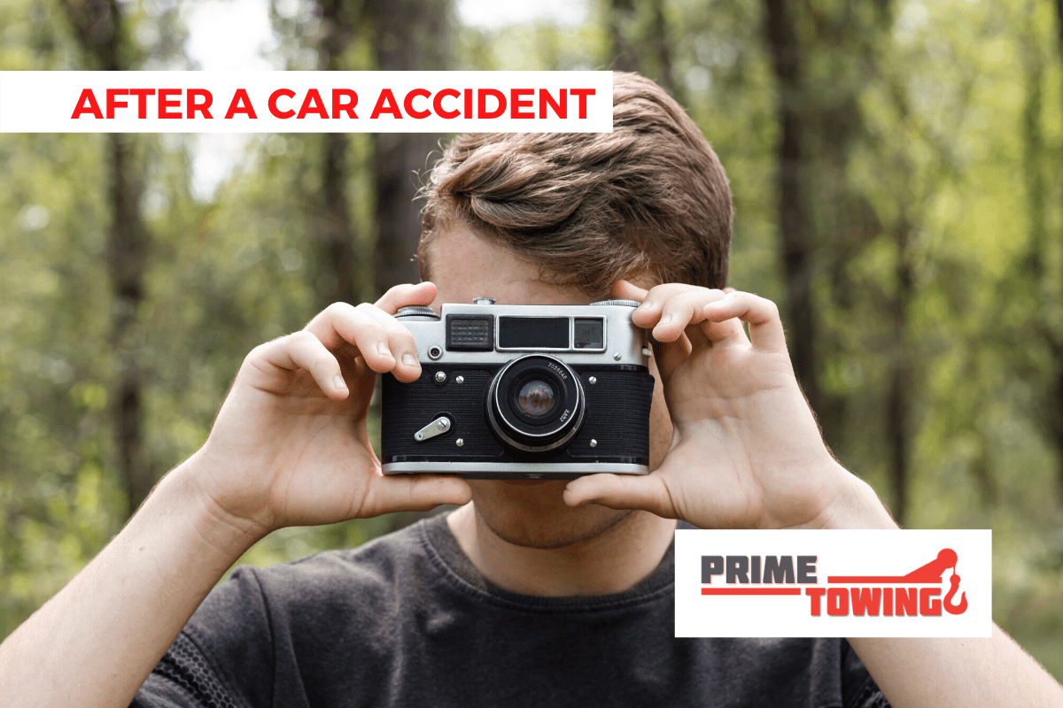 TAKE PICTURE AFTER AN ACCIDENT